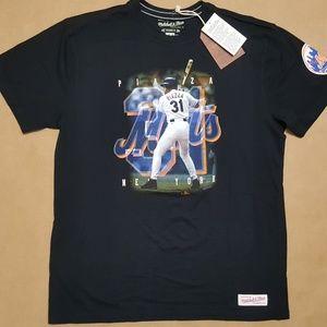 Mitchell & Ness NY Mets Piazza T-Shirt Men Sz XXL